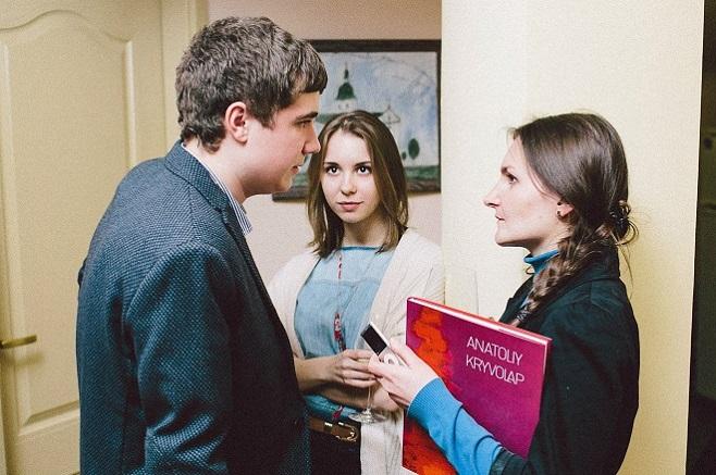Олексій Криволап, Ольга Жук / Фото: Сергій Гречка