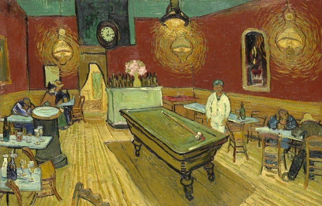 "Картина Винсента Ван Гога ""Ночное кафе"" © wikimedia.org/Yale University Art Gallery"