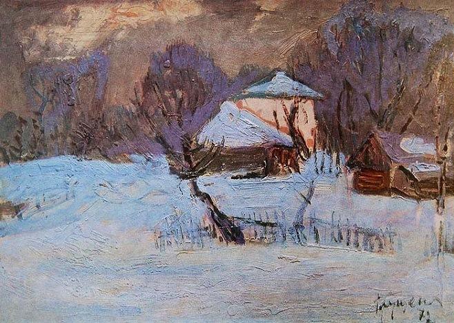 Микола Глущенко — Перший сніг