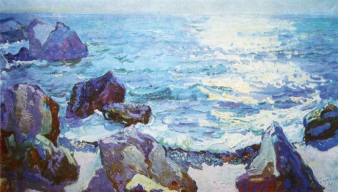 Микола Глущенко — Сонце на морі