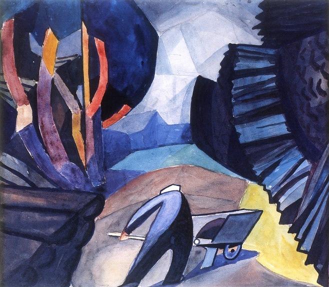 Богомазов, коллекция Григоришина 1