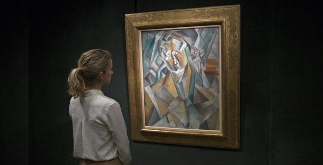 """Пабло Пікассо, """"Жінка що сидить"""", 1909. Foto: Pascal Perich"""