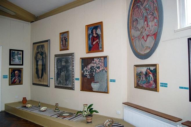 Експозиція Художньо-меморіального музею Олекси Новаківського. Фото: photo-lviv.in.ua