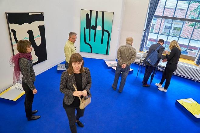 галерея Limoncello, презентация работ художници Cornelia Baltes