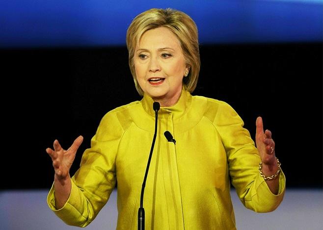 Гілларі Клінтон. Фото: slate.com