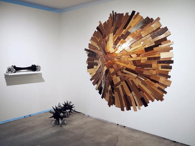 объекты художника  Lionel Scoccimaro представленные  Galerie Dukan