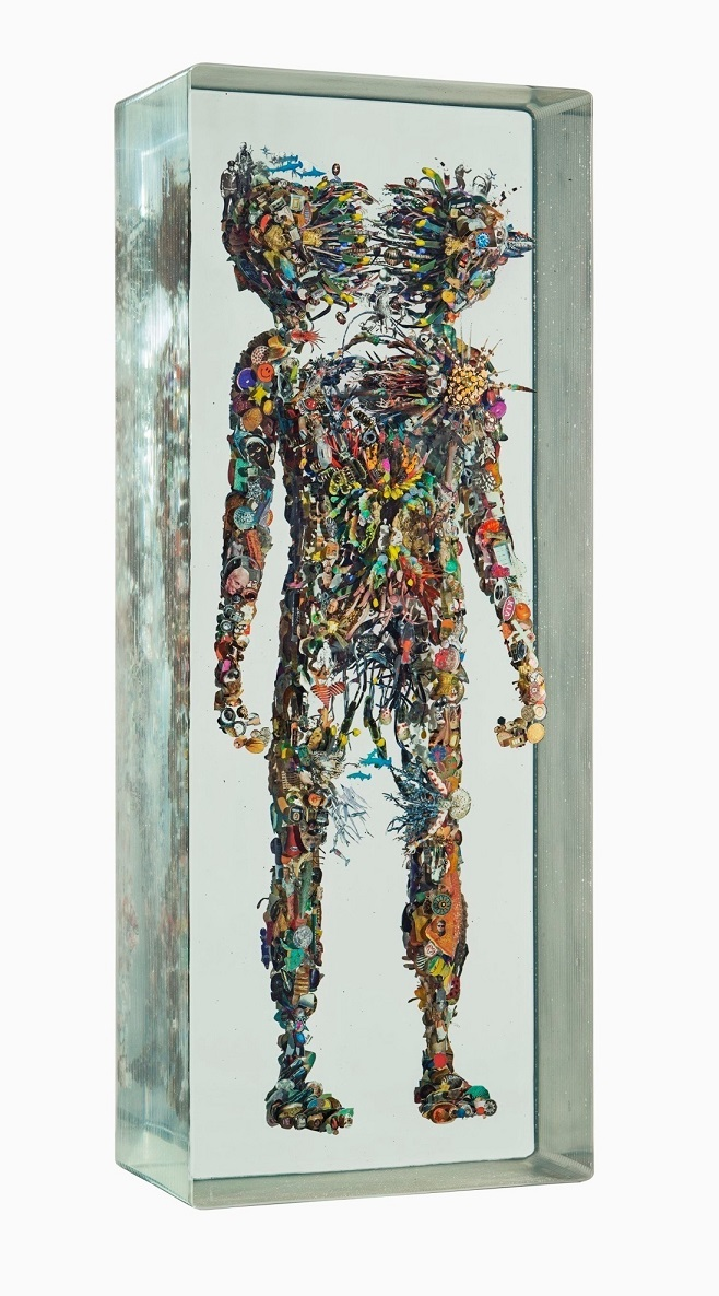 "автор Dustin Yellin ""Psychogeography Study 102"", 2016, Richard Heller Gallery"
