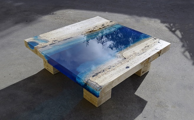 Столи із «Lagoon Tables». Фото: mymodernmet.com