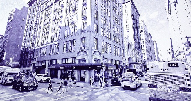 ballpoint_pen_drawing_poletaev_art_Madison_Avenue