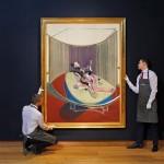 Френсіса Бекона - картина під назвою «Лежача фігура зі шприцом для підшкірних ін'єкцій, версія № 2»