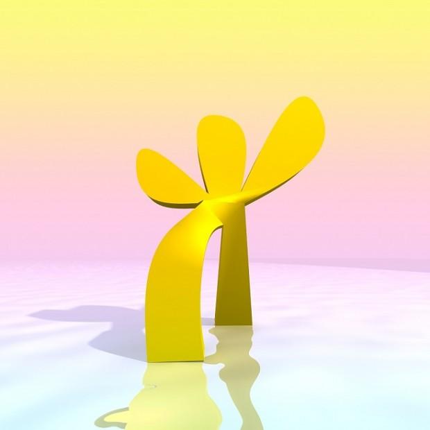 Walking flower. тривимірна анімація / 2016