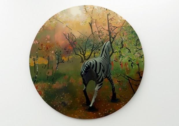 Олександр Гнилицький. Без назви. Серія Jurassic Future (Одна із останніх робіт художника) / Фото: pinchukartcentre.org