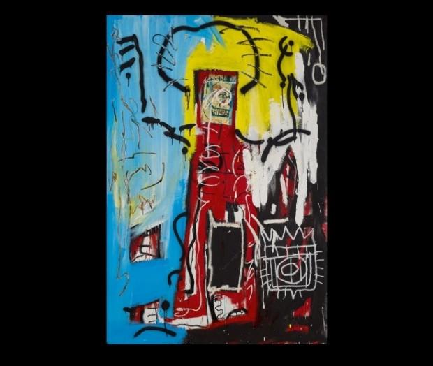 Жан-Мішель Баскія «Без назви» («Одноокий») / Фото: sothebys.com
