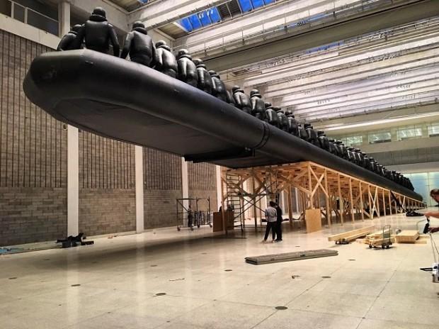 Ай Вейвей, інсталація Закон подорожі у Празі / Фото: instagram.com/aiww/