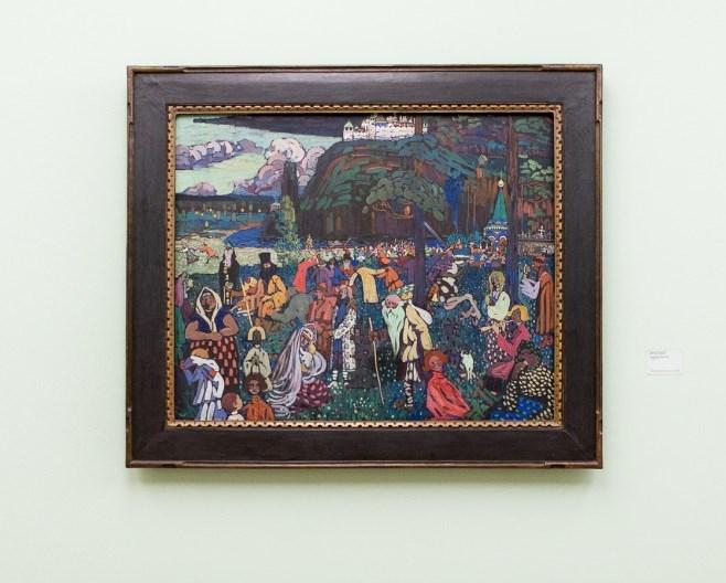 Василь Кандинський - Барвичте життя, 1907 / Фото: Florian Peljak