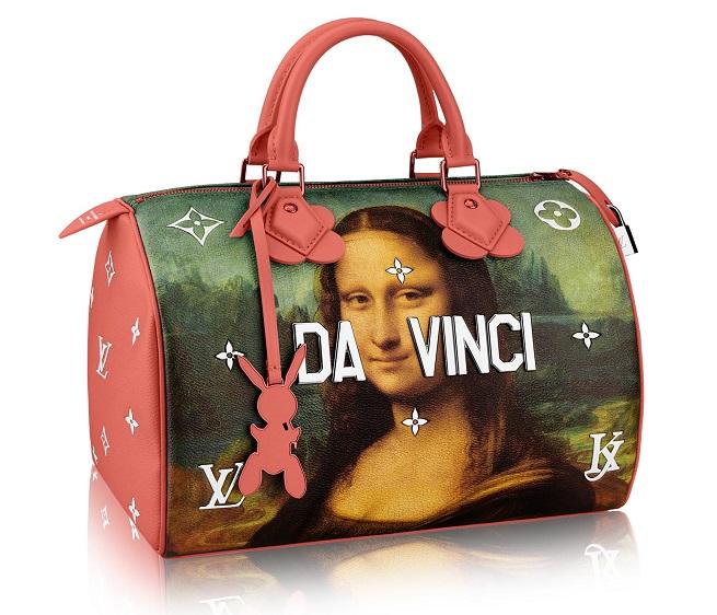 Сумка із нової колекції Louis Vuitton від Джеффа Кунса /Фото: louisvuitton.com