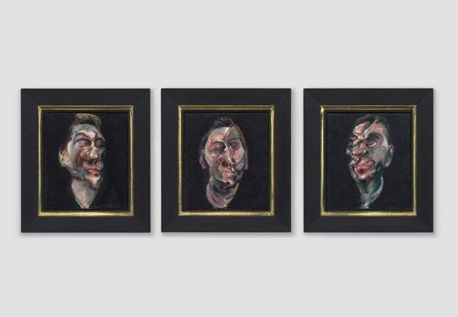 "Картина Френсіса Бекона ""Три етюди Джорджа Дайера"" /Фото: christies.com"