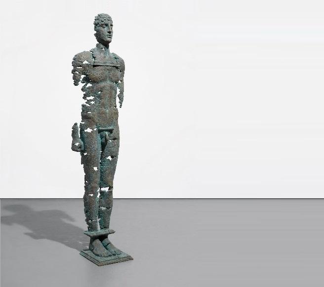 Скульптура Єгора Зігури «Колос, що пробуджується», 2016