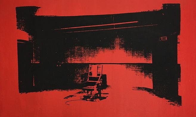 Енді Уорхол, «Маленький електричний стілець / Фото: Courtesy of Alice Cooper