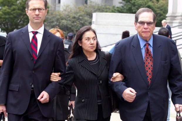 Глафіра Росалес і адвокати / Фото: Jefferson Siegel / NY Daily News via Getty Images