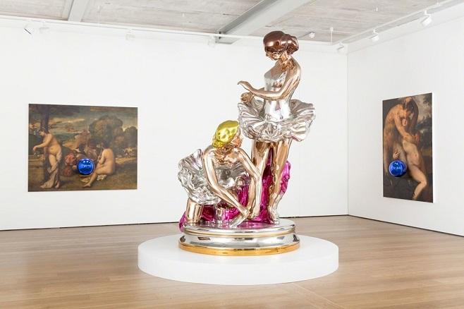 "Скульптура Джеффа Кунса ""Ballerinas"" / Фото: Malissa Castro Duarte"