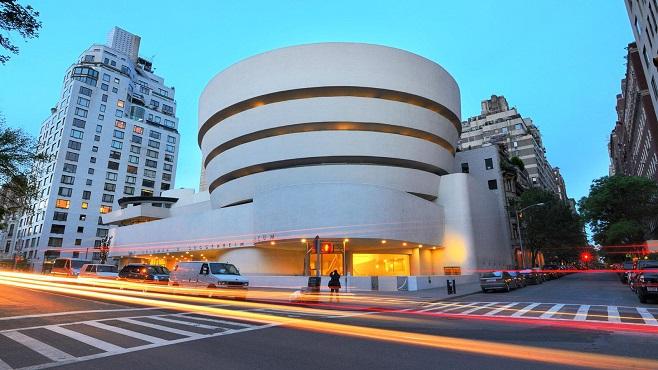 Музей Соломона Гуггенхайма у Нью-Йорку
