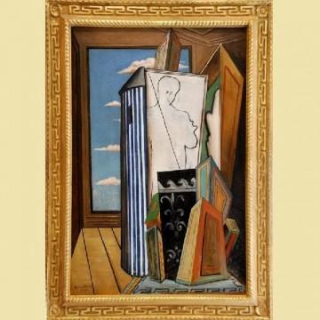 Джорджо де Кіріко — «Композиція з автопортретом», 1926