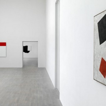 Картина «Чорний прямокутник, червоний квадрат» /  Фото: Kunstsammung NRW. Achim Kukulies