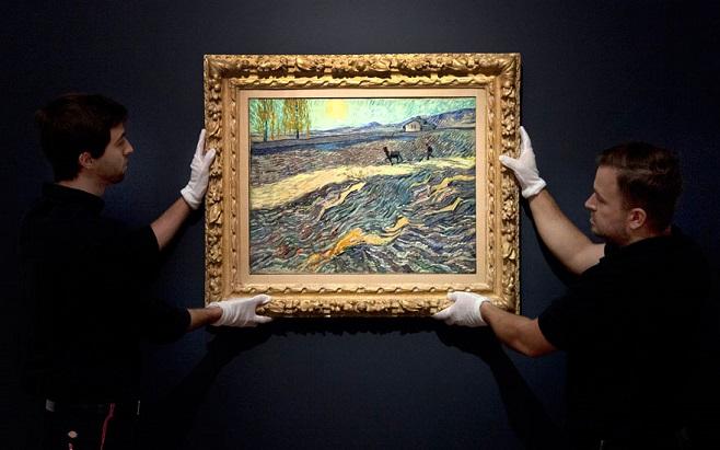 Вінсент Ван Гог, «Зоране поле і орач», 1889 / Фото: christies.com