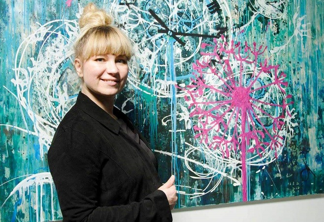 Художниця Таня Василенко