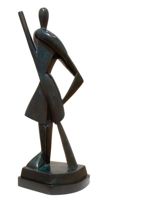 Олександр Архипенко, Gondolier. Скульптуру продано на аукціоні Sotheby's за £ 461 000