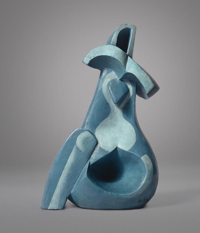 Олександр Архипенко, Seated Figure. Скульптуру продано на аукціоні Sotheby's у 2017 році за $ 564 500