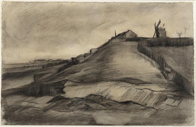 "Вінсент Ван Гог, «Пагорб Монмартр з каменоломнею"", 1886 / Фото: Van Vlissingen Art Foundation"