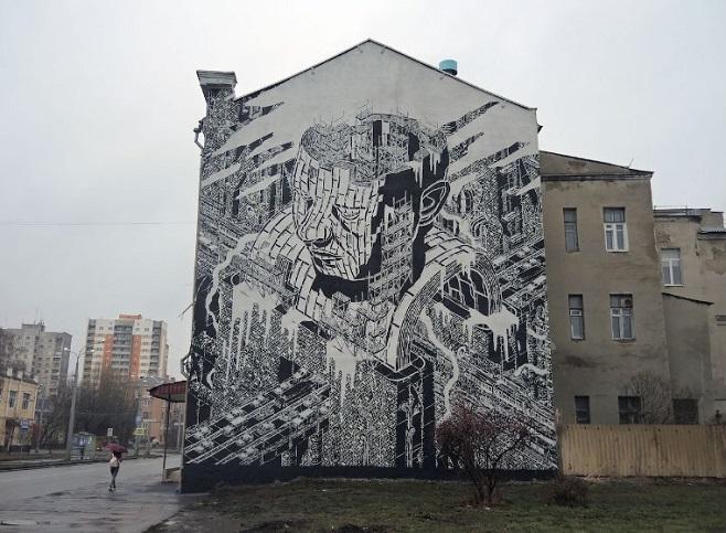 """""""M-CITY"""" в Харкові / Фото: isupportstreetart.com"""