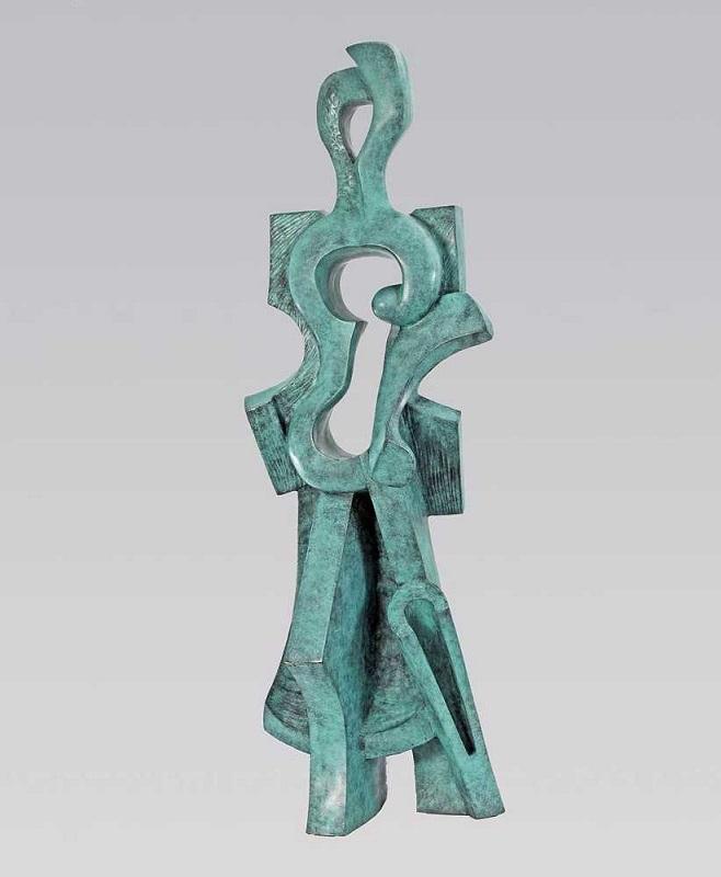 Олександр Архипенко, Walking. Скульптуру продано на аукціоні Christie's у 2012 році за $ 120 100