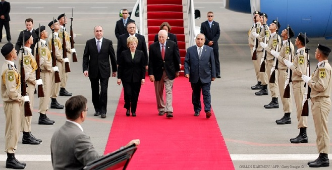 Вице-президент США Дик Чейни, Баку, Азербайджан / Фото: Осман Каримов для агентства Франс-Пресс / 2008