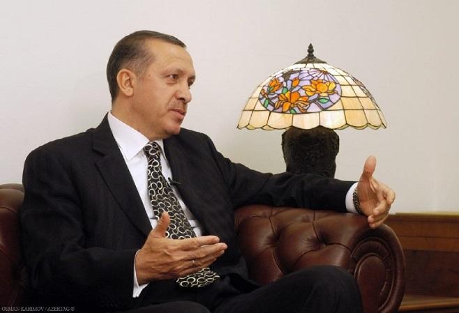 Президент Турции Реджеп Тайип Эрдоган, Баку, Азербайджан / Фото: Осман Каримов для AZERTAG