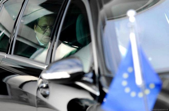 Жосе Мануэль Баррозу, президент ЕС, Баку, Азербайджан / Фото Осман Каримов для Европейской комиссии / 2011