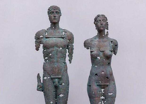 Скульптури Єгора Зігури