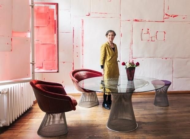 Еріка Гоффман у своїй берлінській квартирі-музеї / Фото: sammlung-hoffmann.de