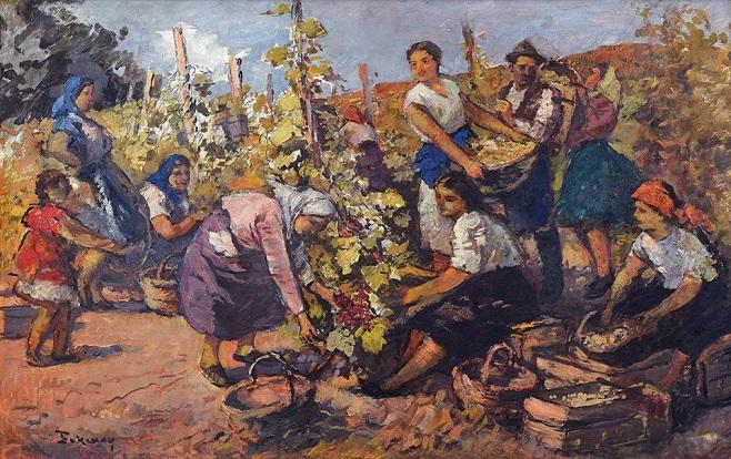 Бокшай Йосип (1891-1975) «Збір винограду», 1950-і