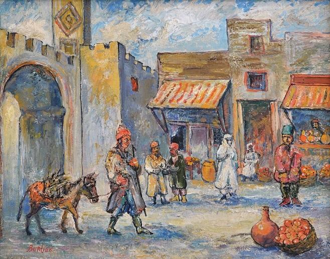 Бурлюк Давид (1882-1967) «Марокко», 1950-і
