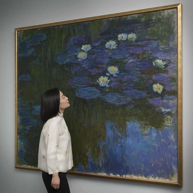 Клод Моне «Латаття в цвіту», 1914-17 / Фото: Christies