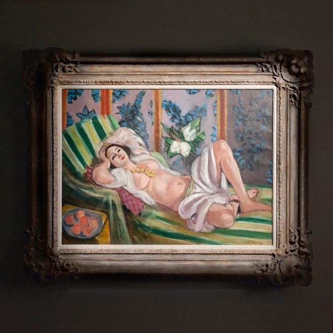 Анрі Матісс «Одаліска, що лежить з магноліями», 1923 / Фото: Christies
