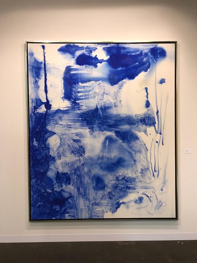 Sigmar Polke Untitles (Lapis Lazuli) 1998