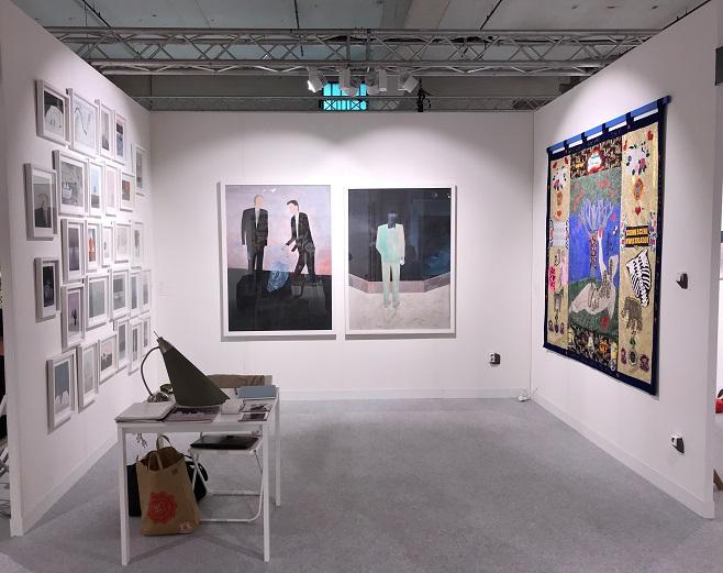 Стенд Voloshyn Gallery