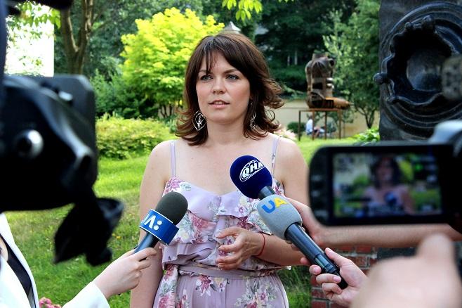 Ольга Собкович, співкуратор проекту