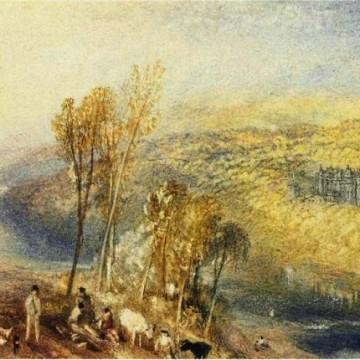 Картина Вальтера Скотта та його сім'ї в Абботсфорді тепер може належити авторстувк вважається Вільяму Тернеру / Фото: alaintruong.com