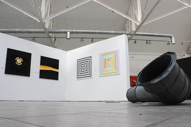 Фрагмент експозиції Ukrainian Contemporary Women's Art Fest 2018 в Інституті проблем сучасного мистецтва / Фото: artslooker.com