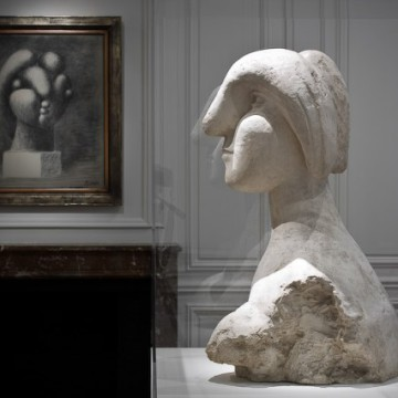 Picasso---s-1931-sculpture-Bust-of-a-Woman-e1452790836325